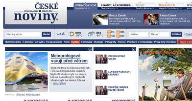 České noviny